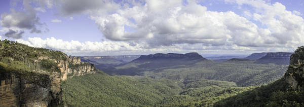 Photograph - The Blue Mountains by Chris Cousins