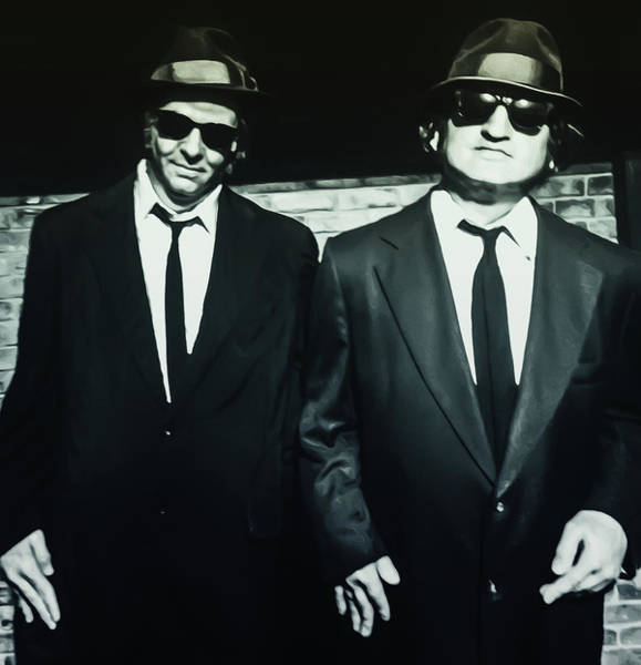 Wall Art - Photograph - The Blues Brothers by Bill Cannon
