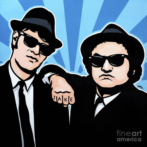 Blues Painting - The Blues Brothers by James Lee