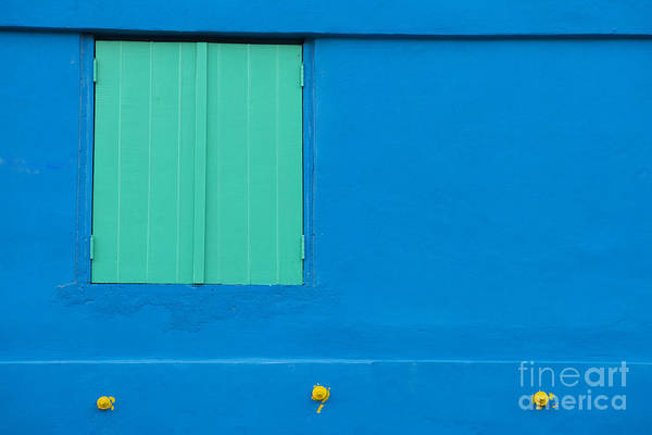 Architectural Details Photograph - The Blues by Juli Scalzi