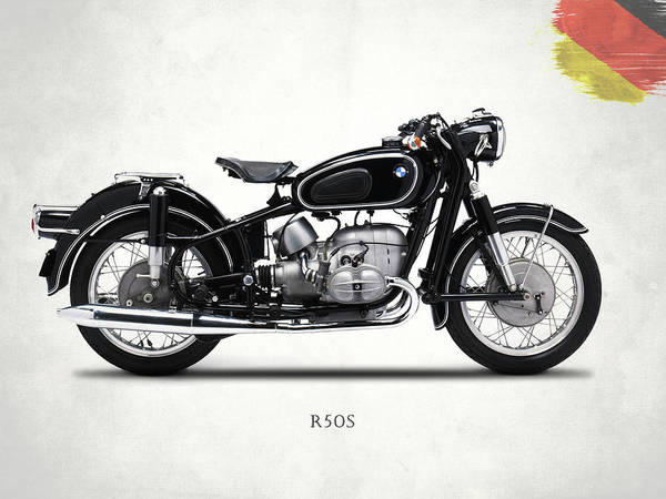 Wall Art - Photograph - The R50s Motorcycle by Mark Rogan