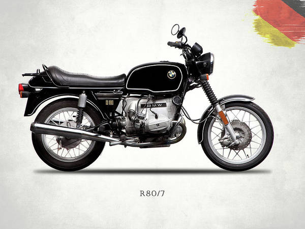 Wall Art - Photograph - The R80 Motorcycle 1978 by Mark Rogan