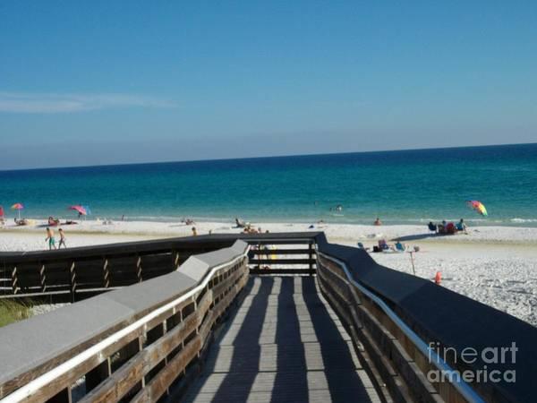 Photograph - The Boardwalk by Tammie J Jordan