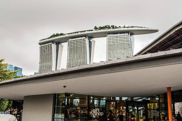 Wall Art - Photograph - The Boat Hotel Singapore by David Rolt