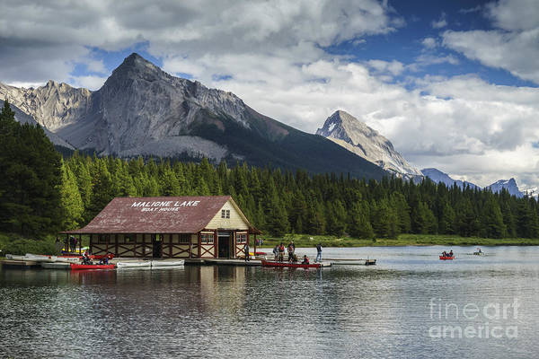 Photograph - The Boat House by Carrie Cole