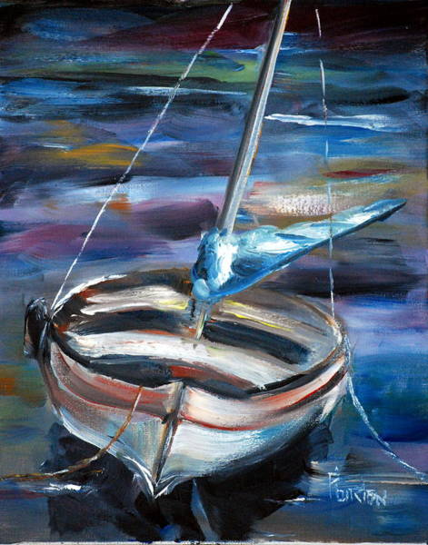 Painting - The Boat by Phil Burton