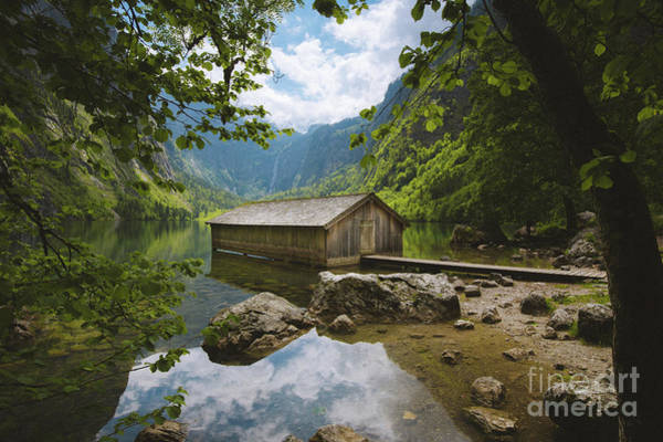 Wall Art - Photograph - The Boat Shed by JR Photography