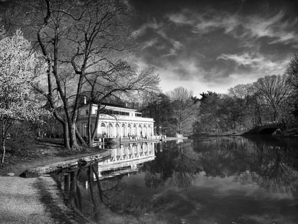 Photograph - The Boathouse Of Prospect Park II by Jessica Jenney