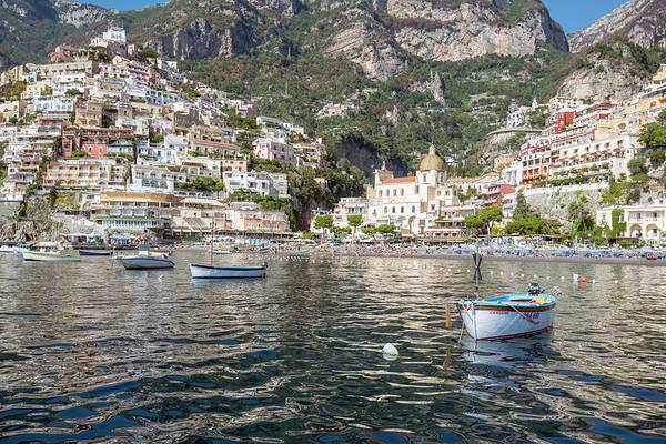 Photograph - The Boats Of Positano  by Matt Swinden