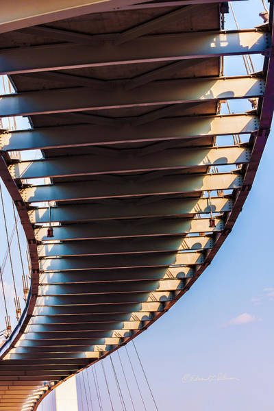 Photograph - The Bob Kerrey Pedestrian Bridge 2 by Edward Peterson