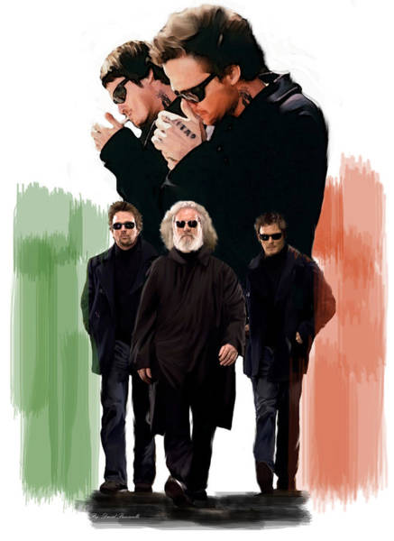 Painting - The Boondock Saints  Redemption by Iconic Images Art Gallery David Pucciarelli