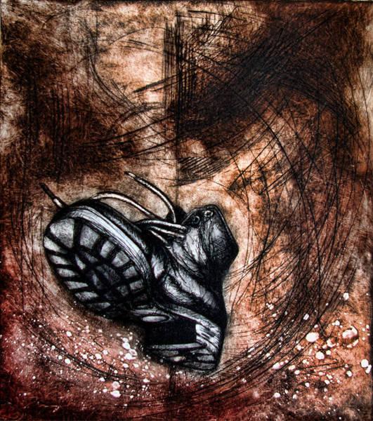 Wall Art - Painting - The Boot by Leyla Munteanu