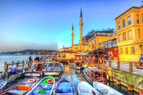 Wall Art - Photograph - The Bosphorus Istanbul by David Pyatt