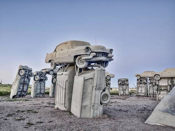 Photograph - The Boss - Carhenge by HW Kateley