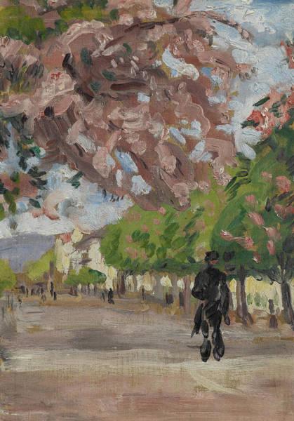 Park Avenue Painting - The Boulevard by Arthur Haythorne Studd