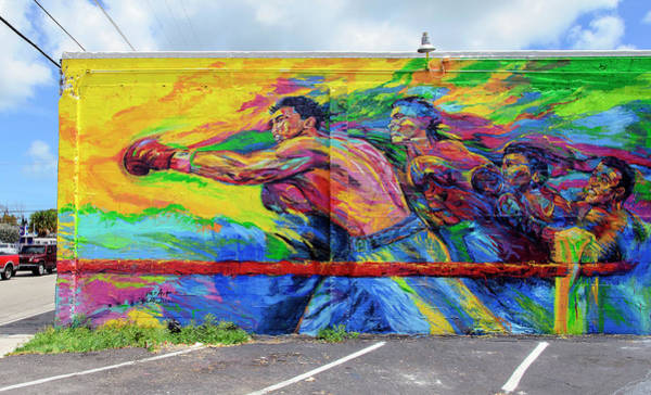 Wynwood Photograph - The Boxer by Keith Armstrong