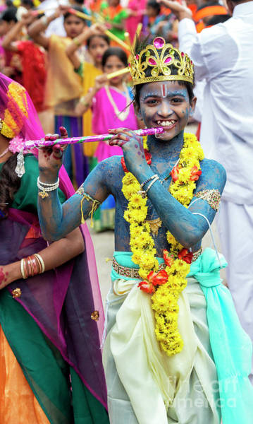 Photograph - The Boy Krishna by Tim Gainey