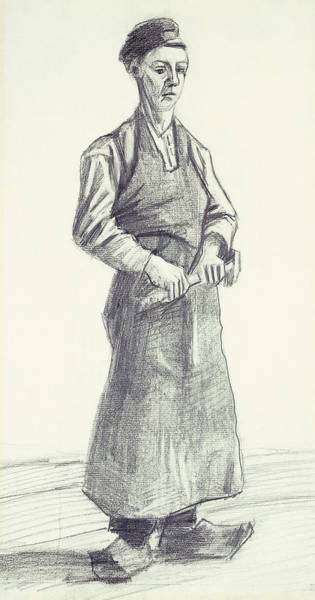 Pastel Pencil Drawing - The Boy Smith by Vincent Van Gogh