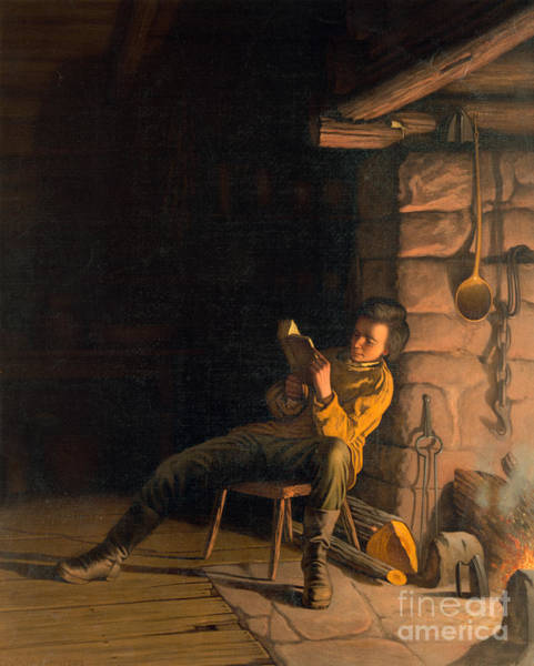 Painting - The Boyhood Of Lincoln by Granger