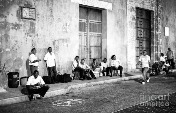 Photograph - The Boys From Cartagena by John Rizzuto