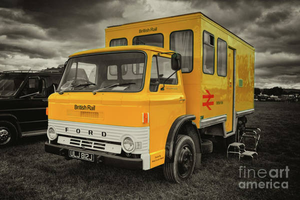 Wall Art - Photograph - The Br Crew Bus  by Rob Hawkins