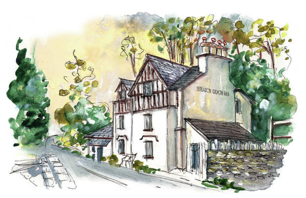 Painting - The Braich Goch Inn In Wales by Miki De Goodaboom