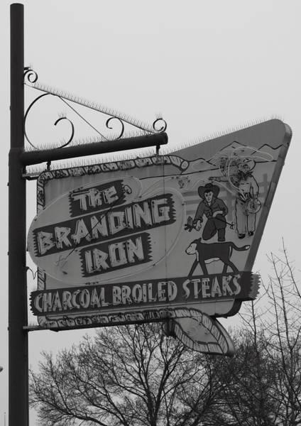 Branding Iron Photograph - The Branding Iron Merced Ca by Troy Montemayor