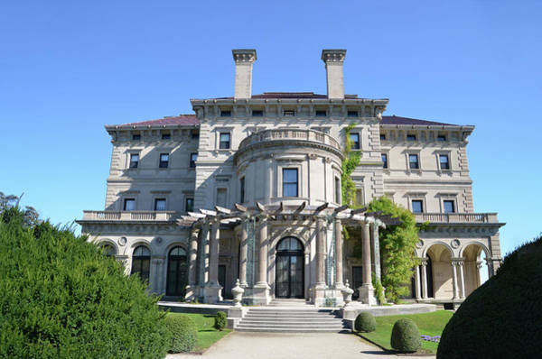 Photograph - The Breakers - Vanderbilt Mansion - Newport Rhode Island by Bill Cannon