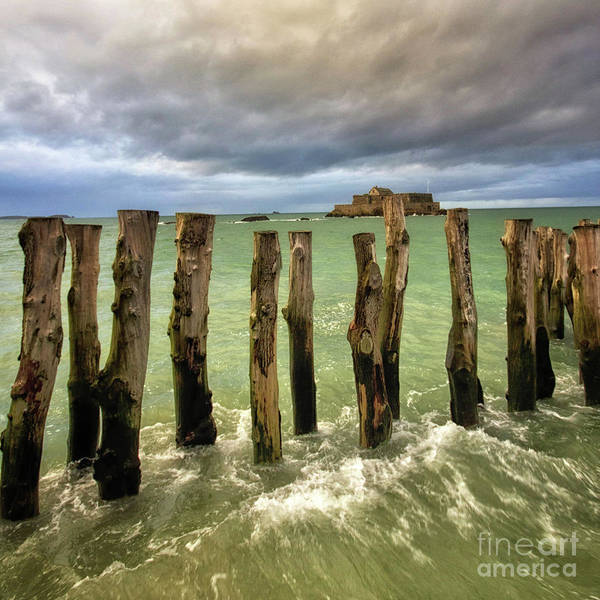 Photograph - The Breakwater by Dominique Guillaume