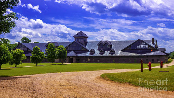 Photograph - The Breeding Barn. by New England Photography