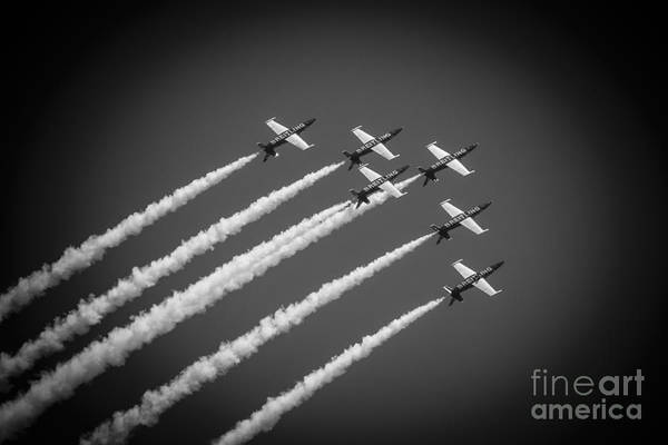 Wall Art - Photograph - The Breitling Air Team by Mary Machare