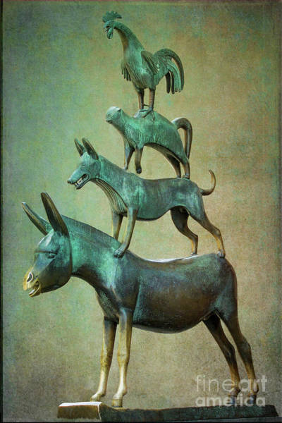 Photograph - The Bremen Town Musicians by Heiko Koehrer-Wagner