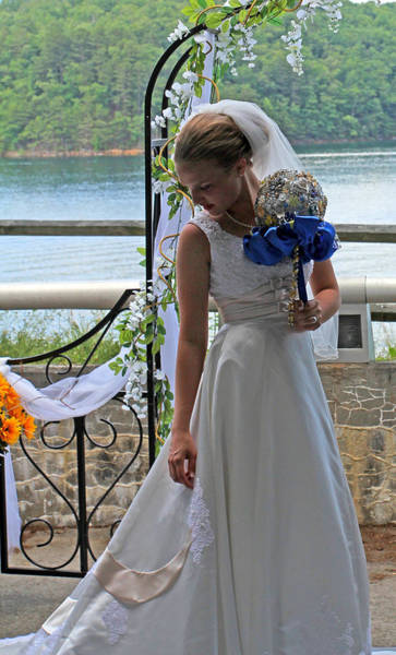 Photograph - The Bride by Jennifer Robin