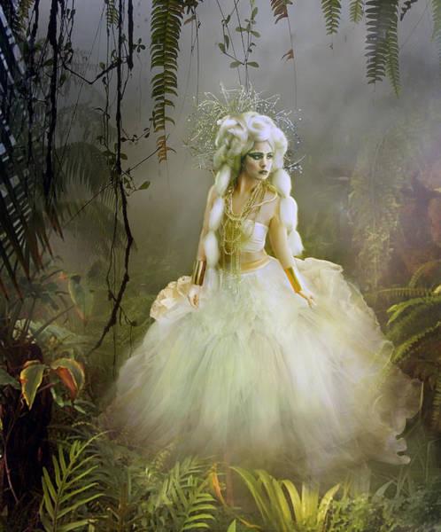 Ferns Digital Art - The Bride by Karen Koski