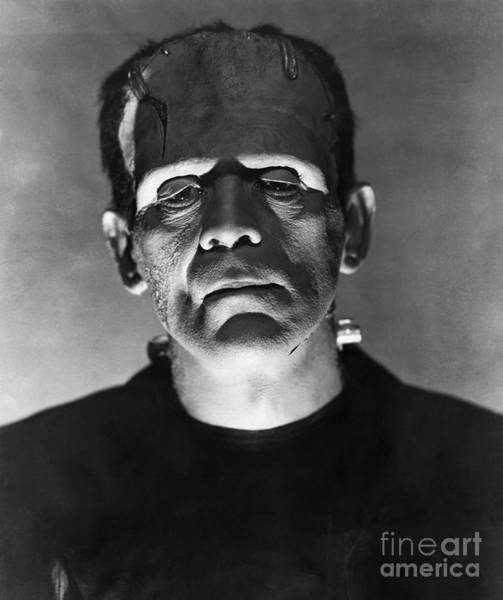 The Undead Photograph - The Bride Of Frankenstein by R Muirhead Art