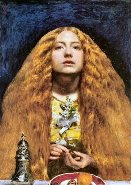 Painting - The Bridesmaid 1851 by John Everett Millais - Joy of Life Art Gallery