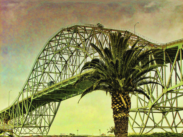Broken Sky Digital Art - The Bridge As The Sun Breaks Through by Wendy J St Christopher