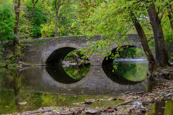 Wall Art - Photograph - The Bridge At Bells Mill - Philadelphia by Bill Cannon