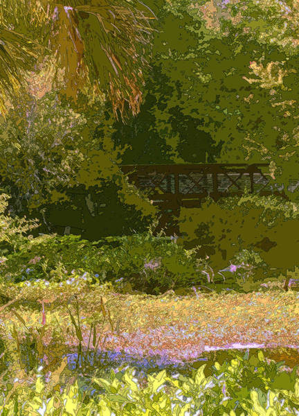 Photograph - The Bridge At Fenney Springs by James Rentz