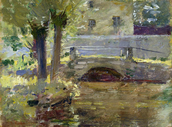 Painting - The Bridge At Giverny by Theodore Robinson