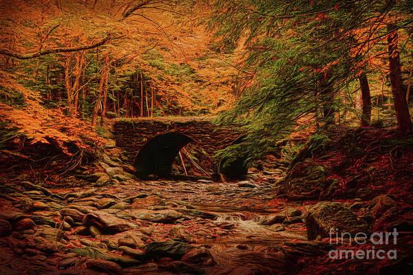 Painting - The Bridge by Deborah Benoit