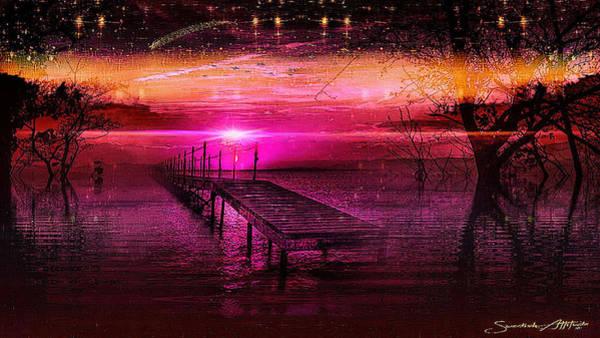 Digital Art - The Bridge Line by Swedish Attitude Design