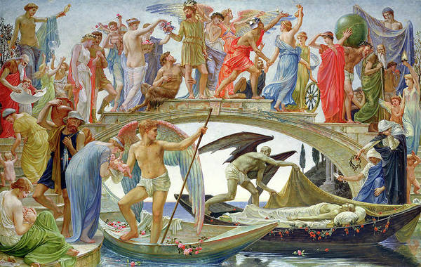 Wall Art - Painting - The Bridge Of Life by Walter Crane