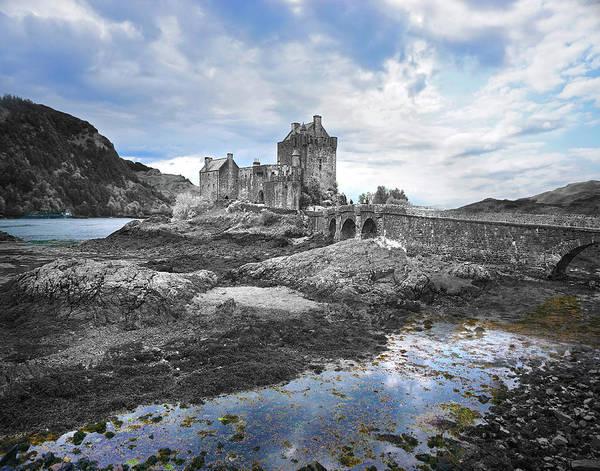 Eilean Donan Castle Digital Art - The Bridge Of Our Past by Vicki Lea Eggen