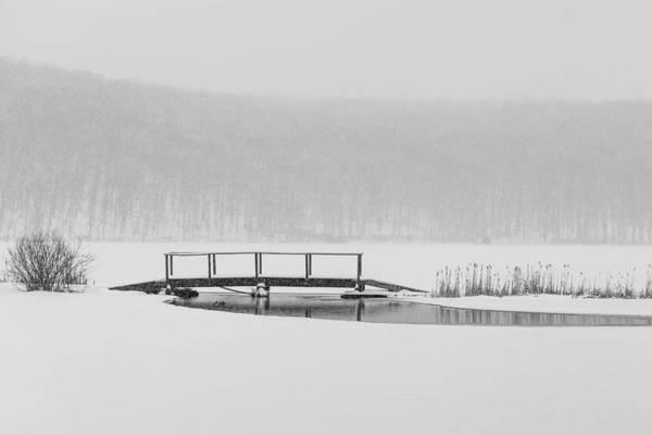 Photograph - The Bridge by Sara Hudock