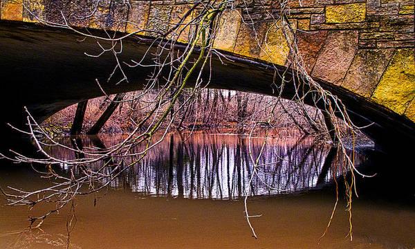 Photograph - The Bridge's Eye by Phil Koch