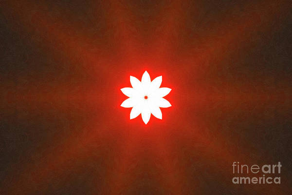 Digital Art - The Bright Morning Star by Donna L Munro