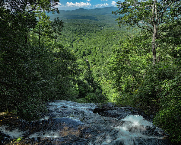 Photograph - The Brink Of Amicalola Falls by Jemmy Archer