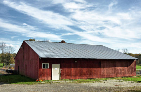 Photograph - The Broad Side Of A Barn by Cate Franklyn