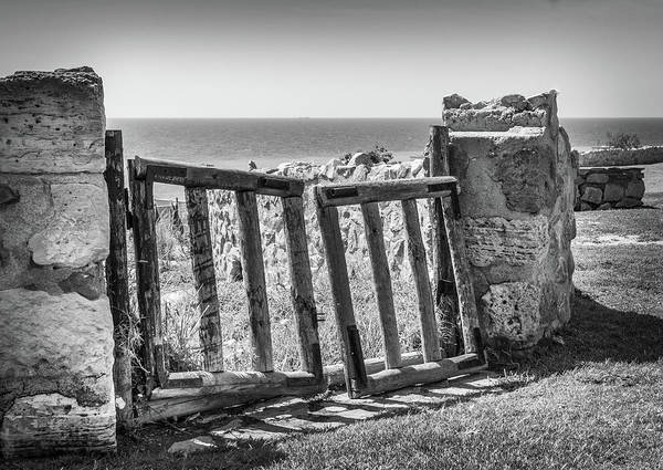 Photograph - The Broken Gate. by Gary Gillette